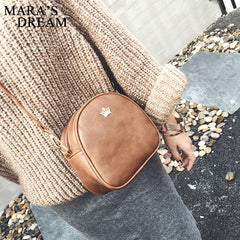Mara's Dream 2018 Handbag Phone Purse Women Small Bag Imperial Crown PU Leather Women Shoulder Bag Small Shell Crossbody Bag - ShopTug