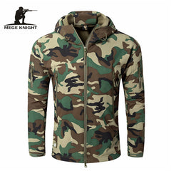 Mege Brand Clothing Autumn Men's Military Camouflage Fleece Jacket Army Tactical Clothing  Multicam Male Camouflage Windbreakers - ShopTug
