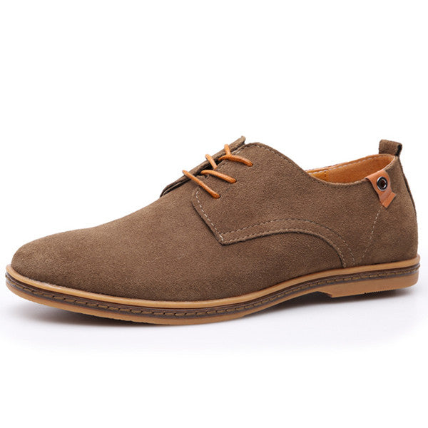New Fashion Comfortable Flat Men Oxford Shoes Lace-up Solid Winter Men Causal Shoes Footwear Hot ET001 1 - ShopTug