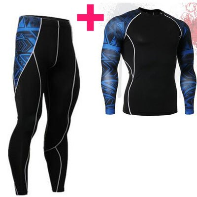 Mens Compression Shirts 3D Teen Wolf Jerseys Long Sleeve T Shirt Fitness Men Lycra MMA Crossfit T-Shirts Tights Brand Clothing - ShopTug