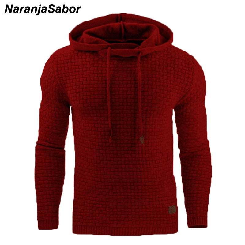 Autumn Men's Hoodies | Slim Hooded Sweatshirts Mens - ShopTug