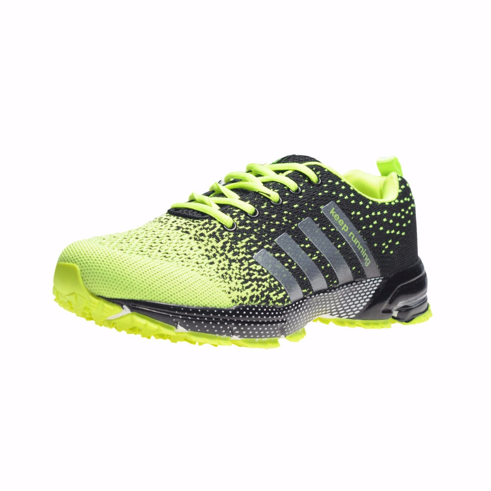 Outdoor Sports shoes Hot sale Breathable Male Light Weight Shoes Sneakers for man Adult Athletic trainer running Shoes - ShopTug