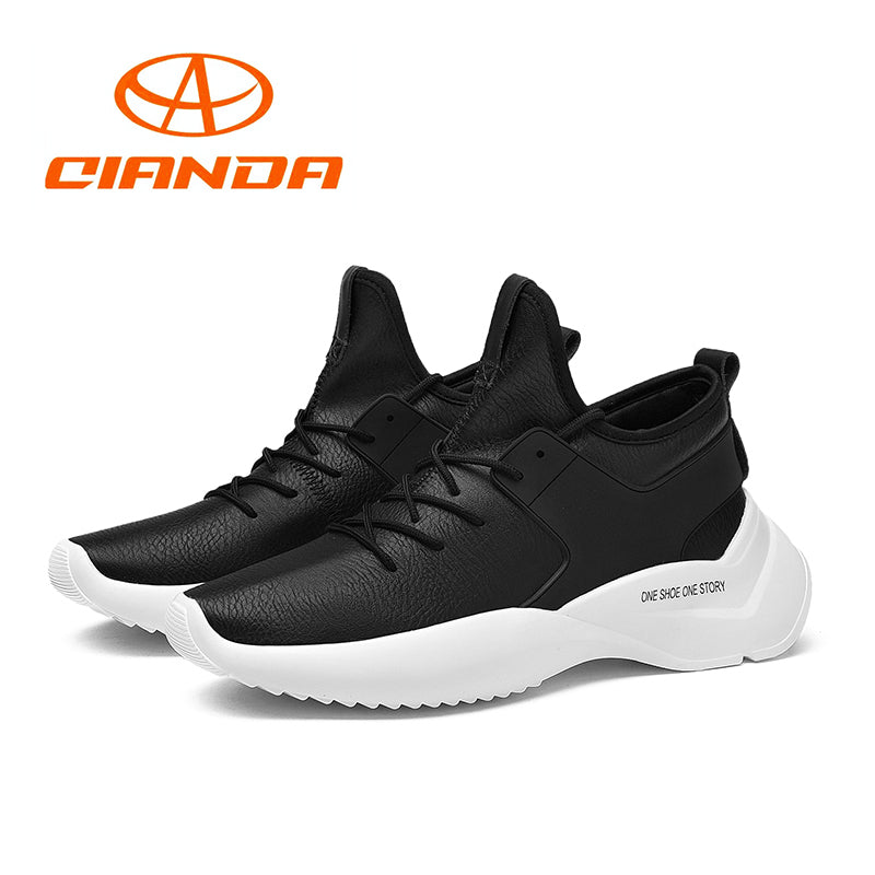 Comfortable Running Shoes for Men | Antiskid Wear Resistant Sport Shoes