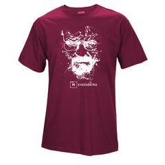 Top Quality Cotton heisenberg funny men t shirt casual short sleeve breaking bad print mens T-shirt Fashion cool T shirt for men - ShopTug
