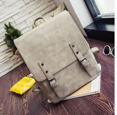 Fashion Women Leather Backpack - ShopTug