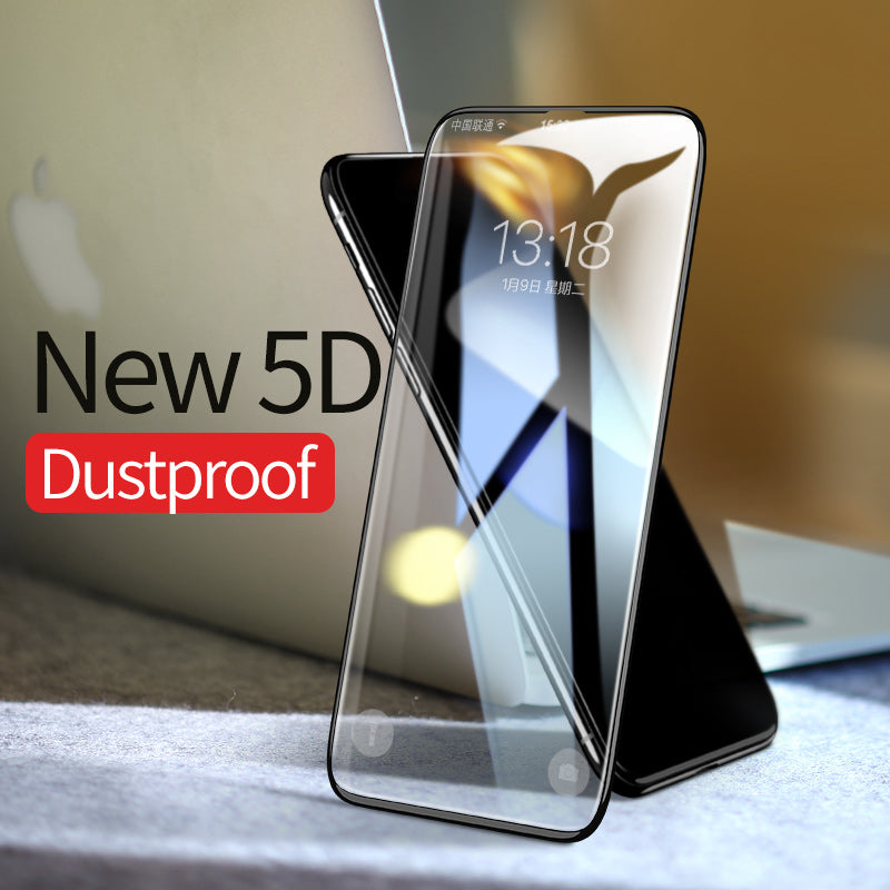 iPhone X Screen Protector | 5D Glass Edge to edge Tempered (Support Face ID) - ShopTug