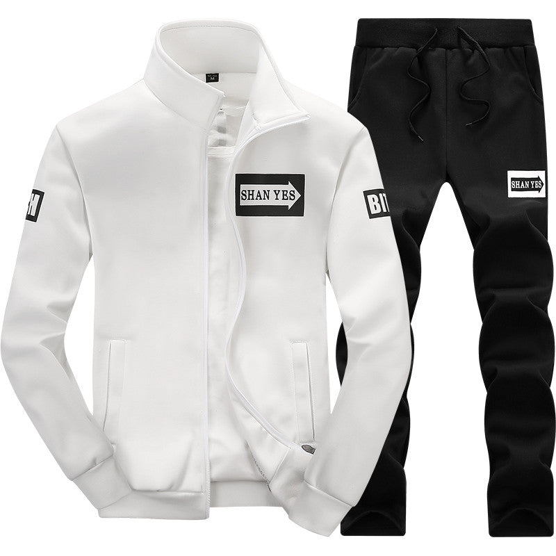 tracksuit brand men | Hip Hop Long Sleeve - ShopTug
