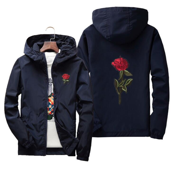 yizlo jacket windbreaker men women rose college jackets 8 clolors - ShopTug