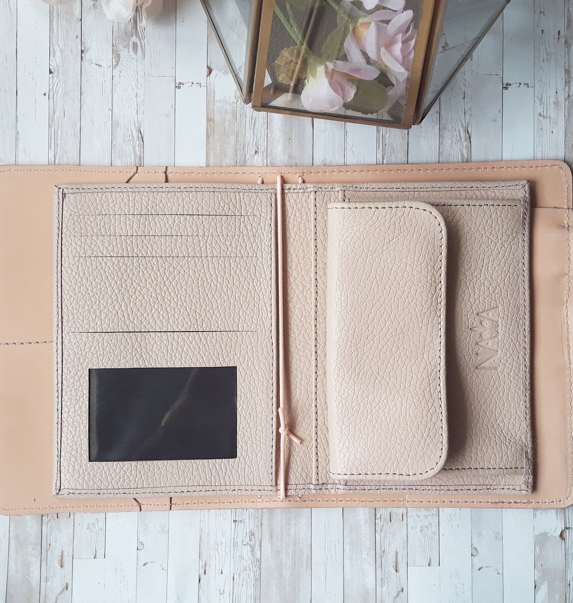 A6 Leather Inserts - Choose your leather
