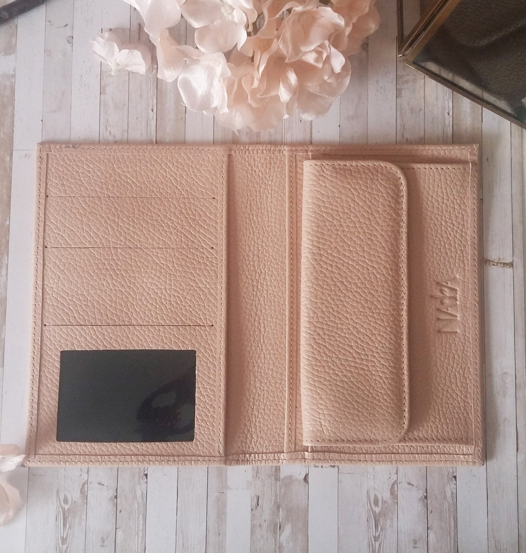 Leather Inserts Blush Pink