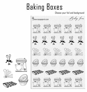 Foiled -  Baking Icons
