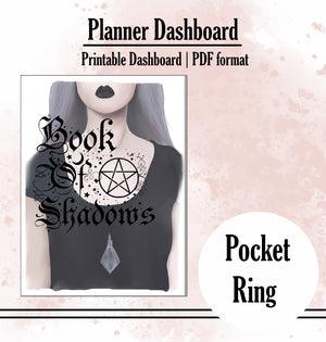 Book of Shadows Dashboard