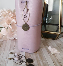 Bronze Medal and Lilac Charm