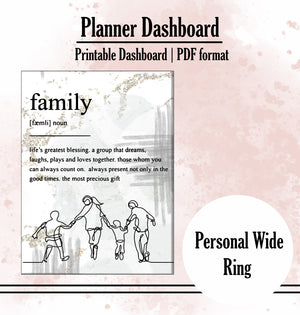 """Family"" Quote Dashboard"