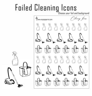 Foiled -  Cleaning Icons