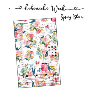 Hobonichi Weeks Spring Bloom kit
