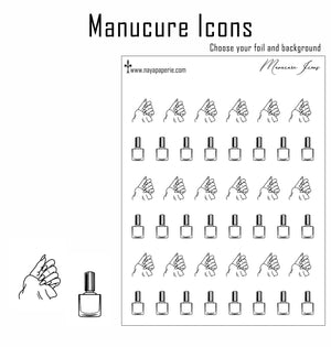 Foiled -  Manucure Icons