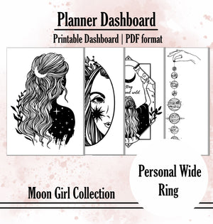Moon Girl Collection Dashboard