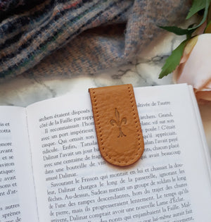 Mustard Magnetic Bookmark