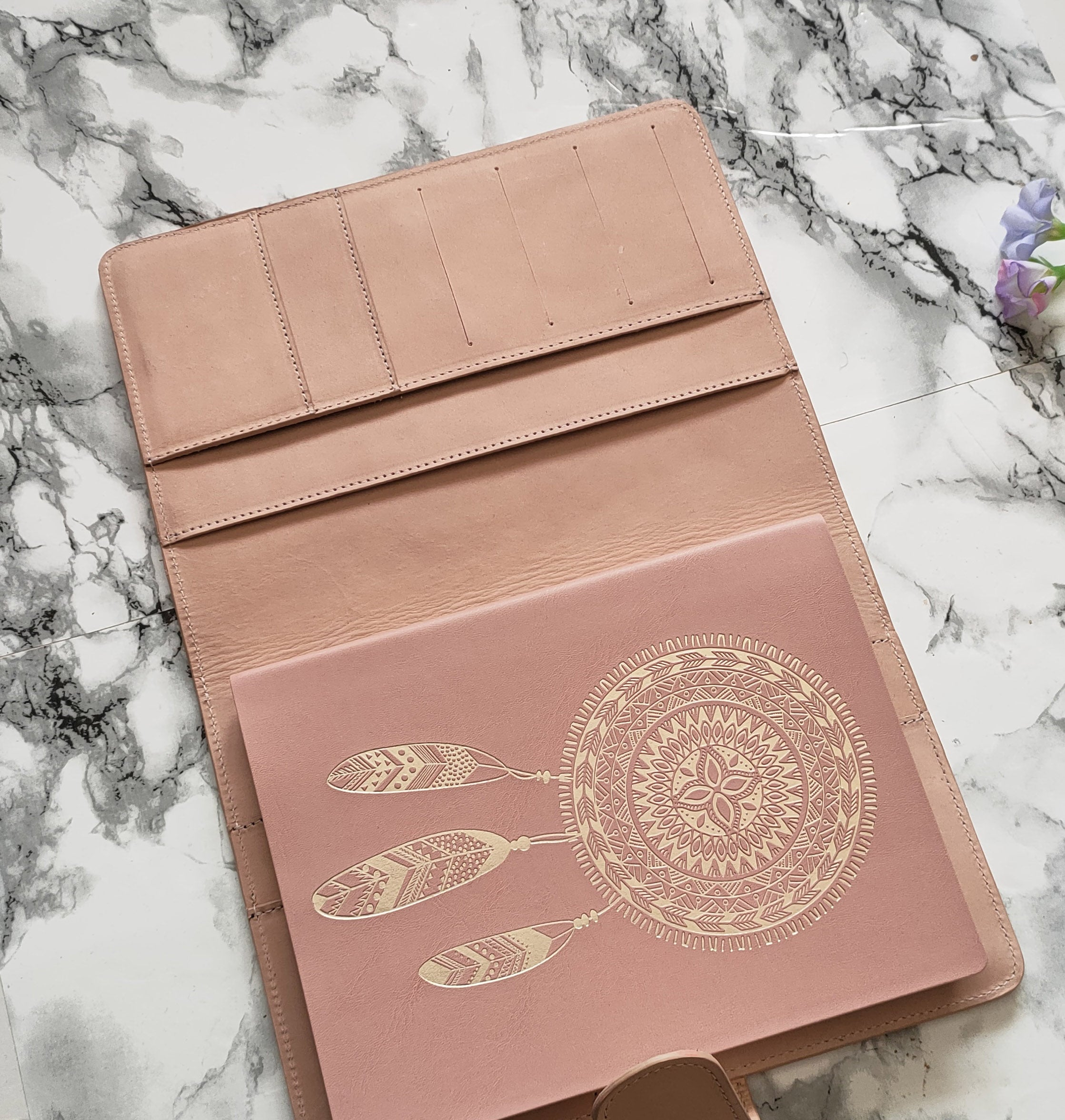 A5 Journal Cover - Peach Perfect