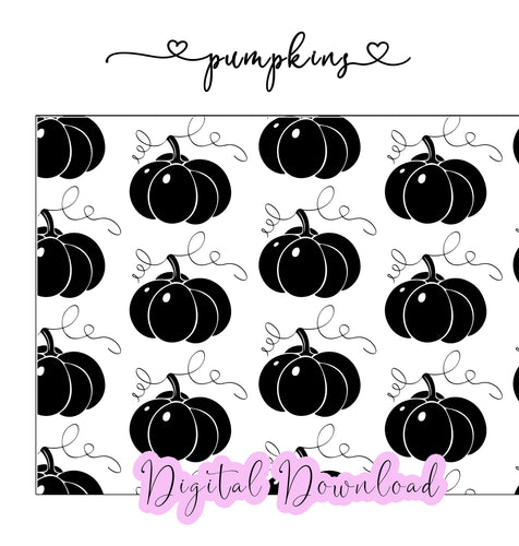 Pumpkin - Digital Paper