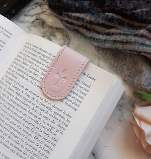 Strawberry Latte Magnetic Bookmark