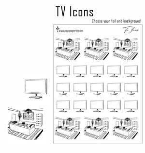 Foiled - TV Icons