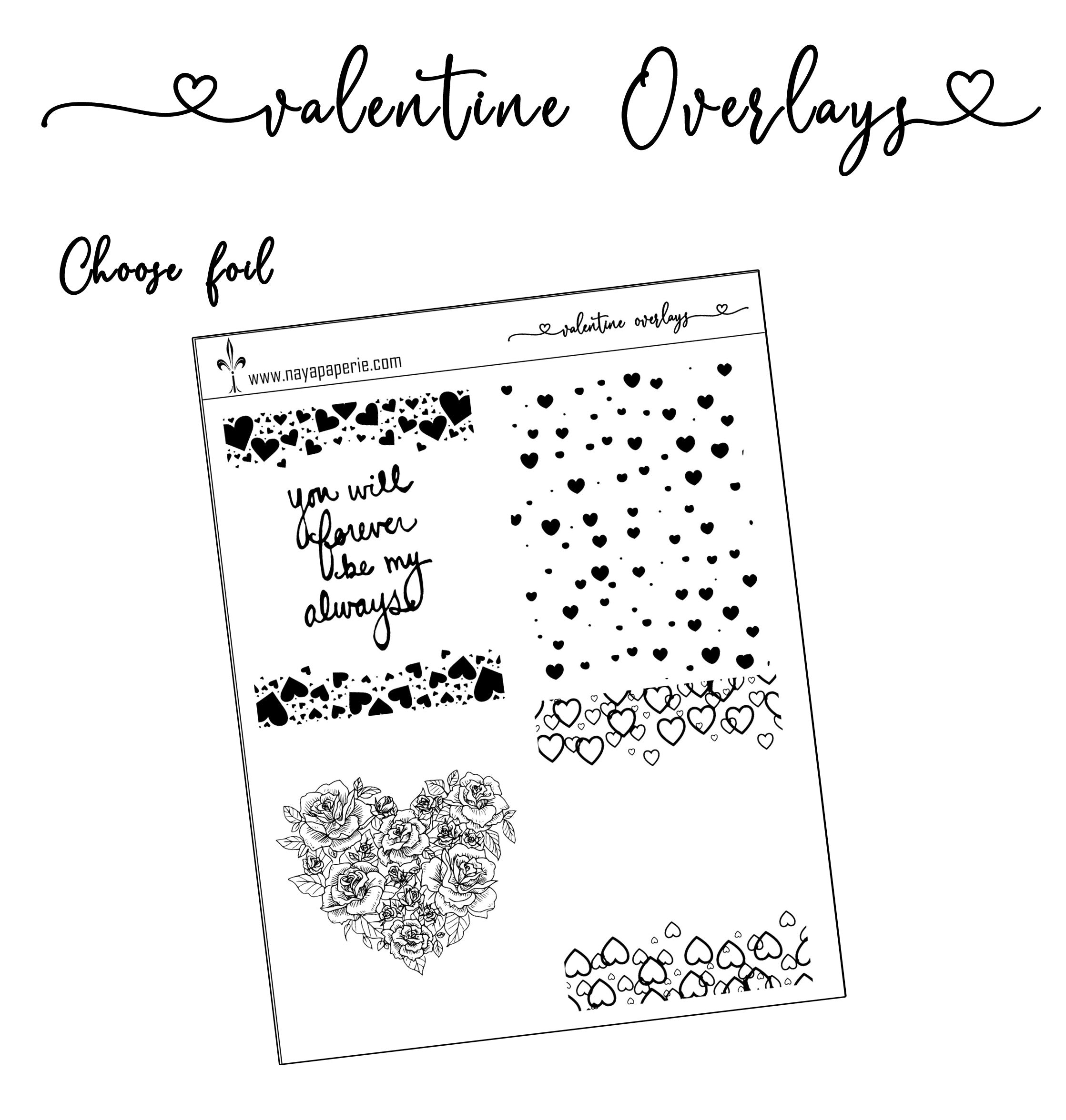 Valentine Full Boxes Overlays