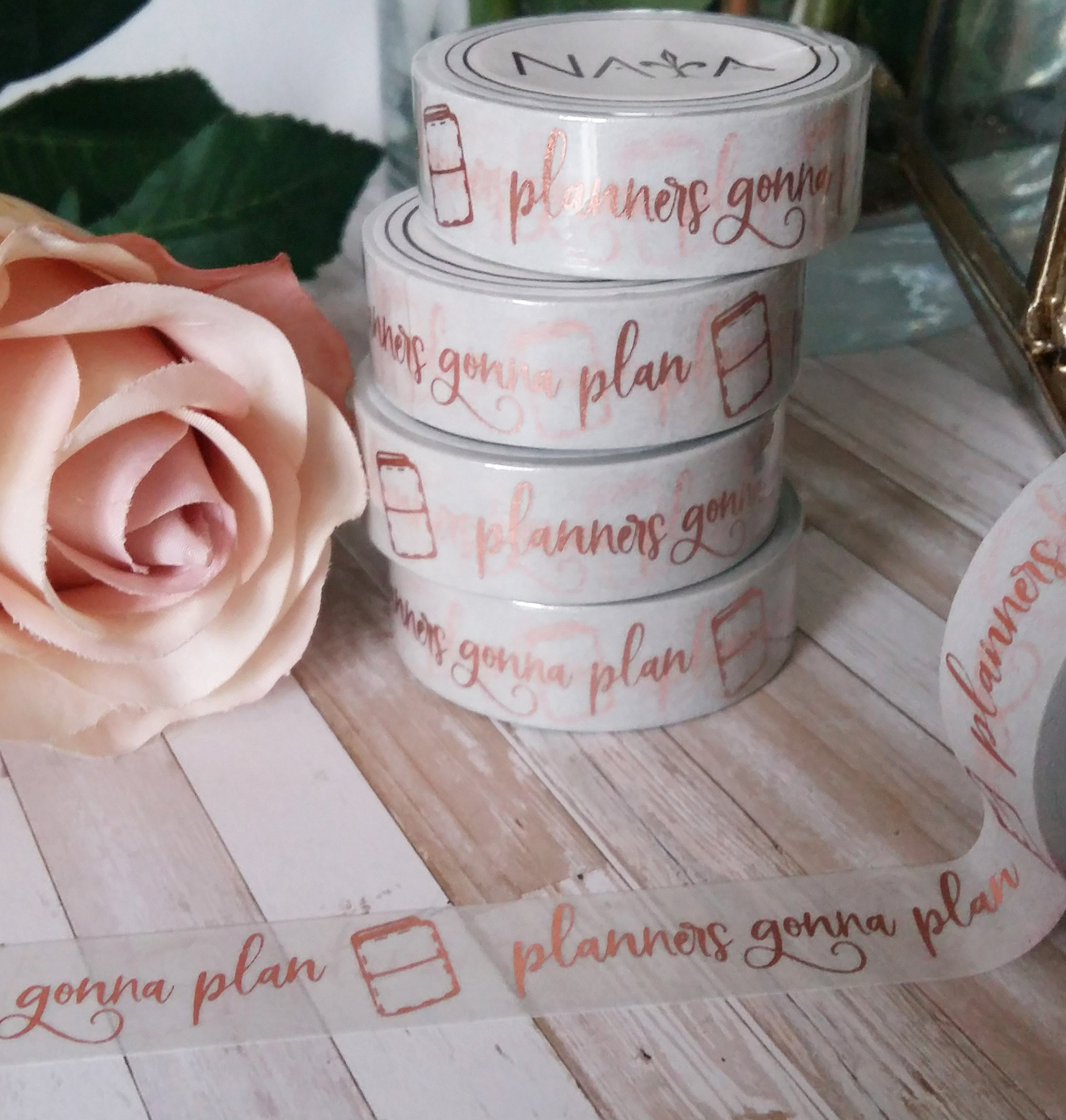 The Graceful Collection ♥ Planners gonna plan with light grey background