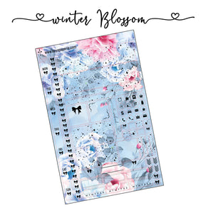 Hobonichi Weeks Winter Blossom kit