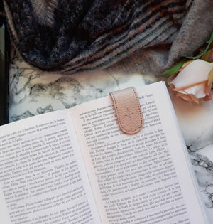 Blush Pink magnetic bookmark