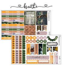 Breathe foiled stickers kit- 5 sheets