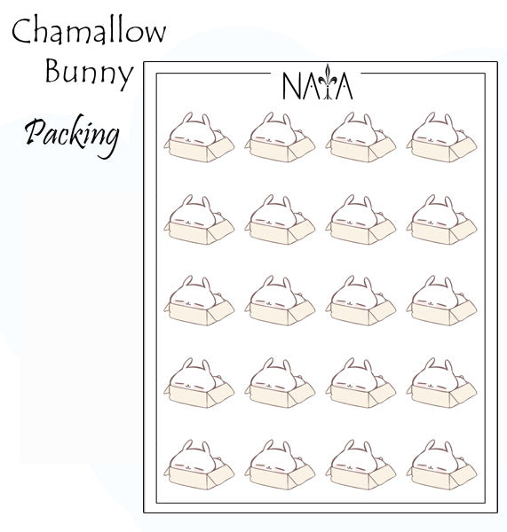 Chamallow Bunny Packing