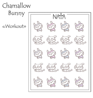 Chamallow Bunny Workout