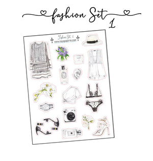 Fashion Set Stickers 1