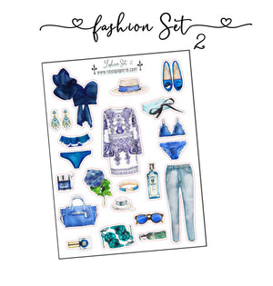 Fashion Set Stickers 2