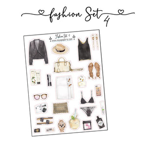 Fashion Set Stickers 4