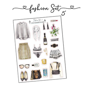 Fashion Set Stickers 5