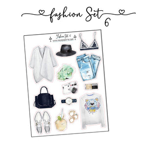 Fashion Set Stickers 6