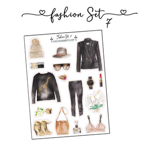 Fashion Set Stickers 7