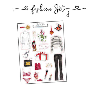 Fashion Set Stickers 8