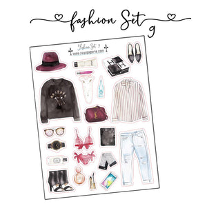 Fashion Set Stickers 9