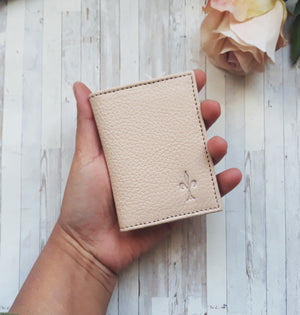 Blush Pink card holder