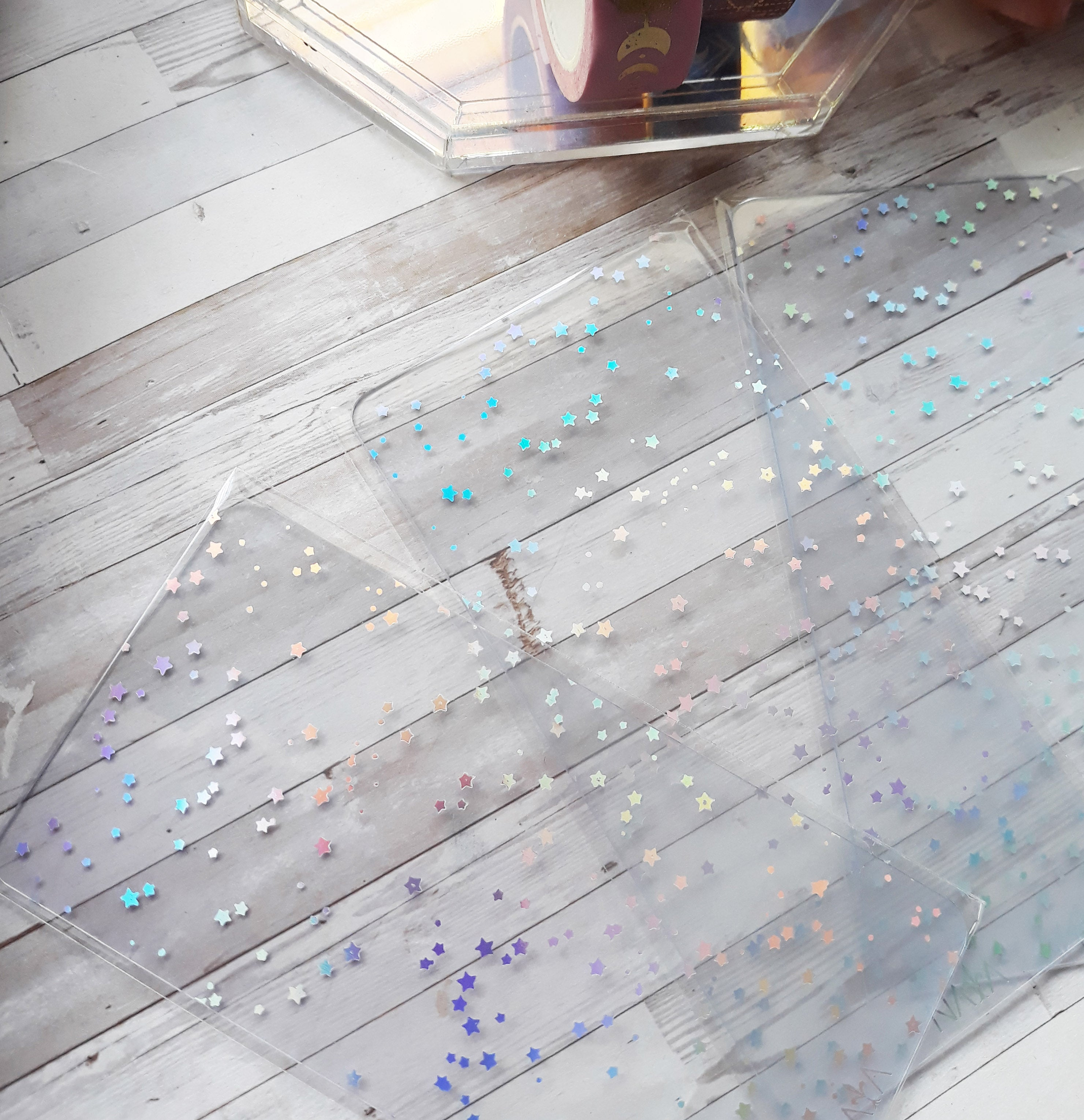 Holo Stars exclusive washi card