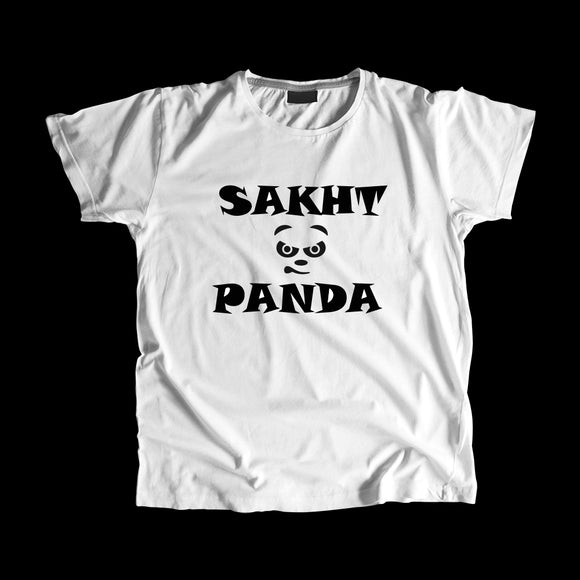Sakht Panda Black T-ShirT