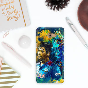 MS Dhoni art Phone Cover