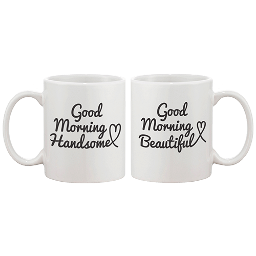 Good Morning Couple Coffee Mug