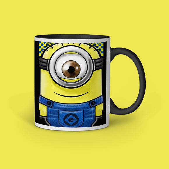 Minion Eye Inner black Color Coffee Mug