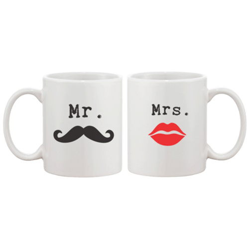 Mr Mrs Couple Coffee Mug