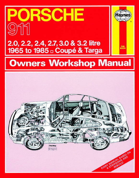 Porsche 911 Owners Workshop Manual 1965 - 1985